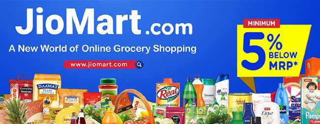 Order Groceries on JioMart.com